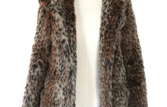 Un manteau fourrure ? Pourquoi pas !