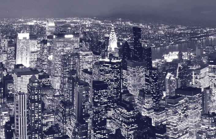 Papier peint  new york pour le salon