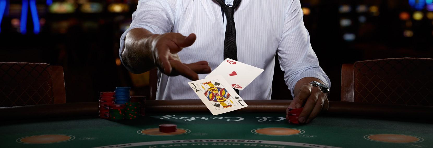 L'intérêt d'un blackjack en live