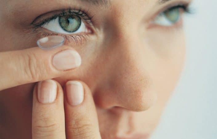 Les lentilles de contact, un dispositif génial
