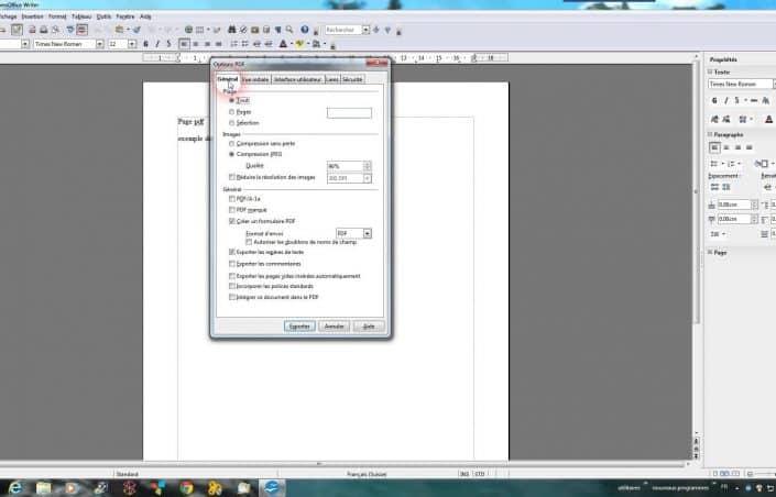 Comment mettre en format pdf ?